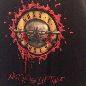 Gun N Roses Tour T Shirt 2017